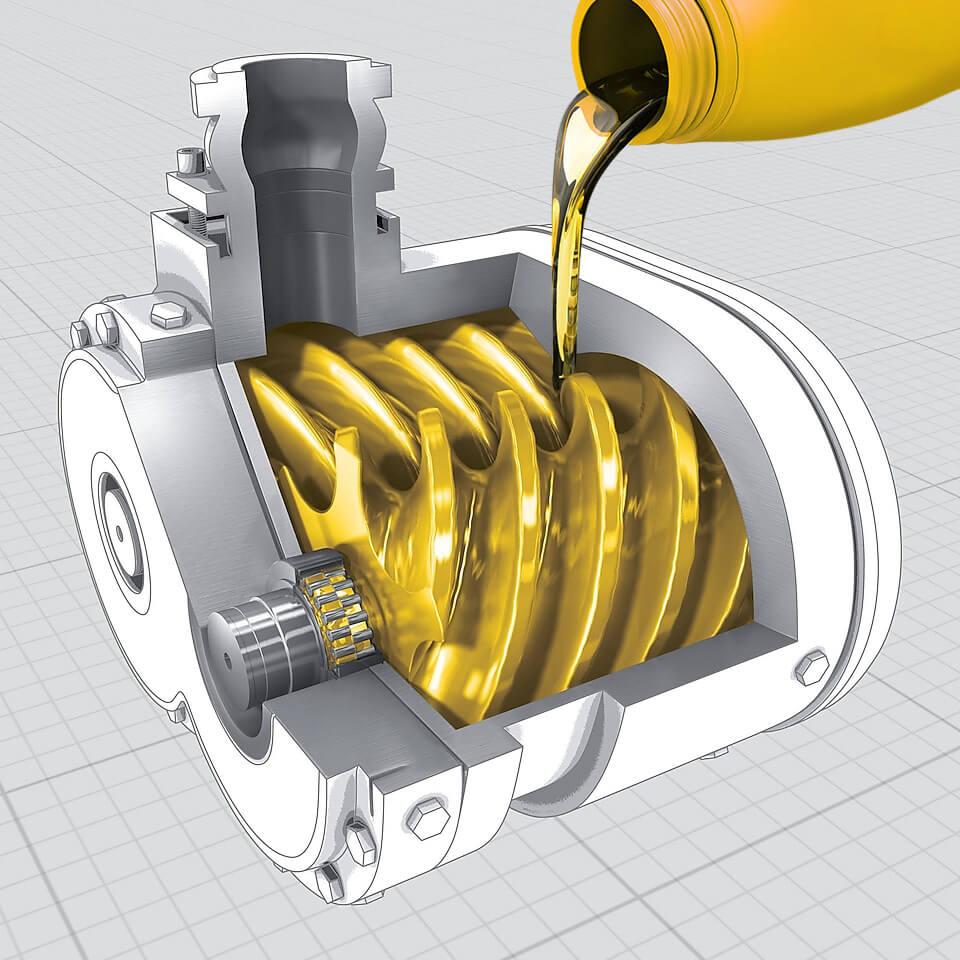 Rotary Screw Air compressor packaging – Luftkryo